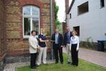 Odbiór umowy o dofinansowanie z WST w Locknitz