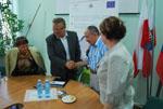 Podpisanie umowy o dofinansowanie projektu