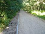 Ścieżka rowerowa z Dźwirzyna do granicy z Miastem Kołobrzeg - postęp prac budowlanych