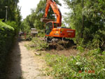 Postęp prac budowlanych na odcinku od granicy z Ustroniem Morskim do Sianożęt