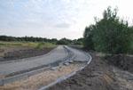 Postęp prac budowlanych na odcinku od Brzeskiej do granicy z Ustroniem Morskim