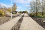 Postęp prac budowlanych na odcinku od ul. Brzeskiej do granicy z Gminą Ustronie Morskie