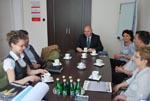 Wizyta pracowników WST Locknitz w Kołobrzegu
