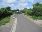 Pierwszy etap odcinka ścieżki rowerowej w mieście Barth